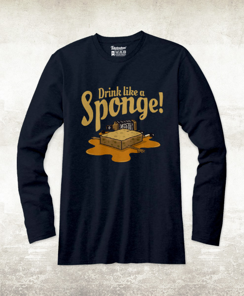 Drink Like A Sponge!, Men