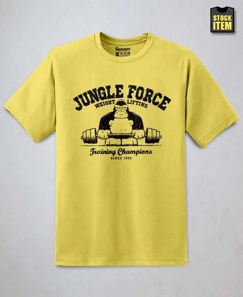 Jungle Force Weightlifting, Men
