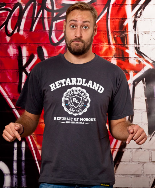 Retardland - Republic Of Morons, Men