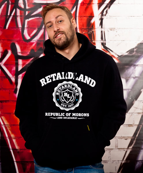 Retardland - Republic Of Morons, Unisex