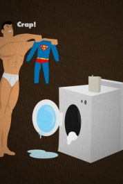 Superman's Bad Laundry Day