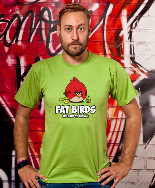 Fat Birds Are Hard To Kidnap, Men