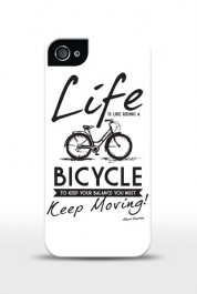 Life Is Like Riding A Bicycle...