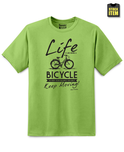 Life Is Like Riding A Bicycle..., Men