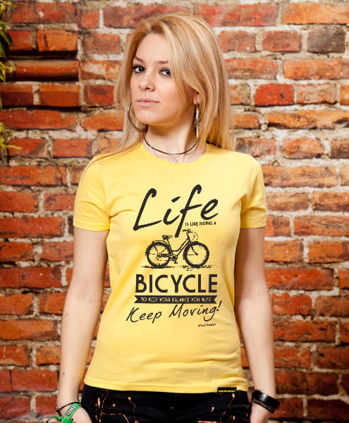 Life Is Like Riding A Bicycle..., Women