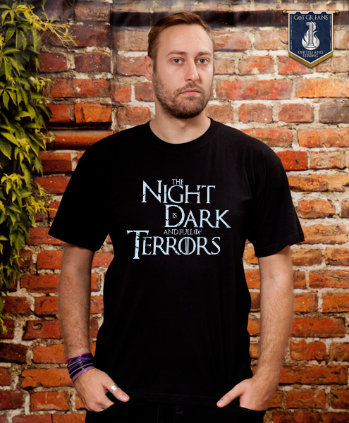 b6165e714 T-Shirts TOKOTOUKAN – Online shop - The Night Is Dark And Full Of ...