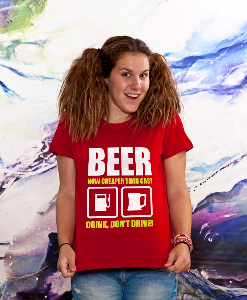 Beer Now Cheaper Than Gas!, Women