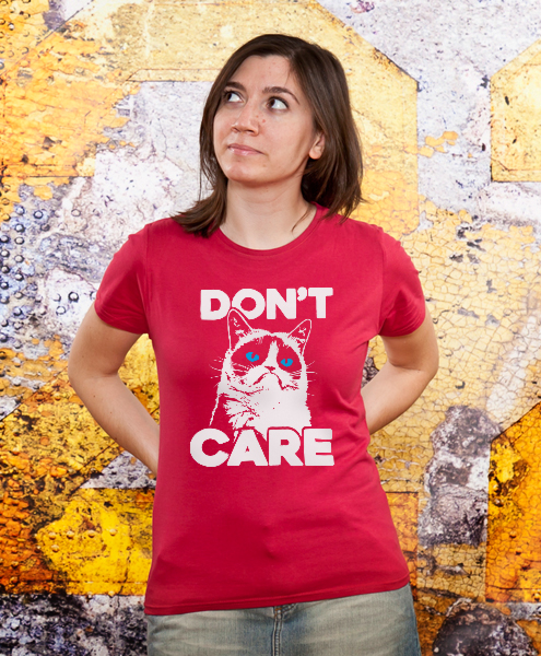Grumpy Cat - Don't Care, Women