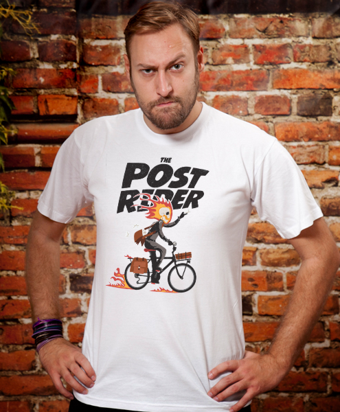The Post Rider, Men