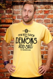 For Rich Flavor & Demons, Add Salt